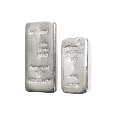 1 kilo best value silver bar