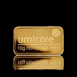 10 gram umicore gold bar