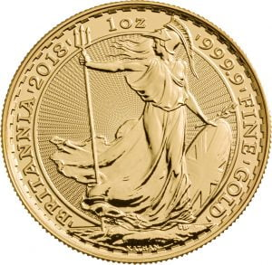2018 Gold Britannia Coin
