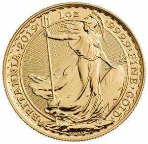 2019 Gold Britannia Coin