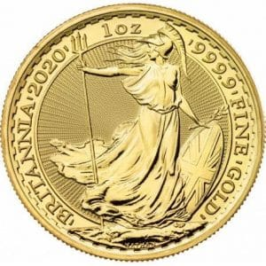 2020 Gold Britannia Coin