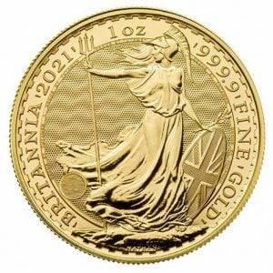 2021 Gold Britannia Coin